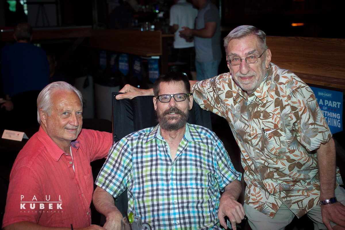 (Left to right) Buddy Mullino, Bruce Monroe, Mike Grossman, board members of The Dallas Way