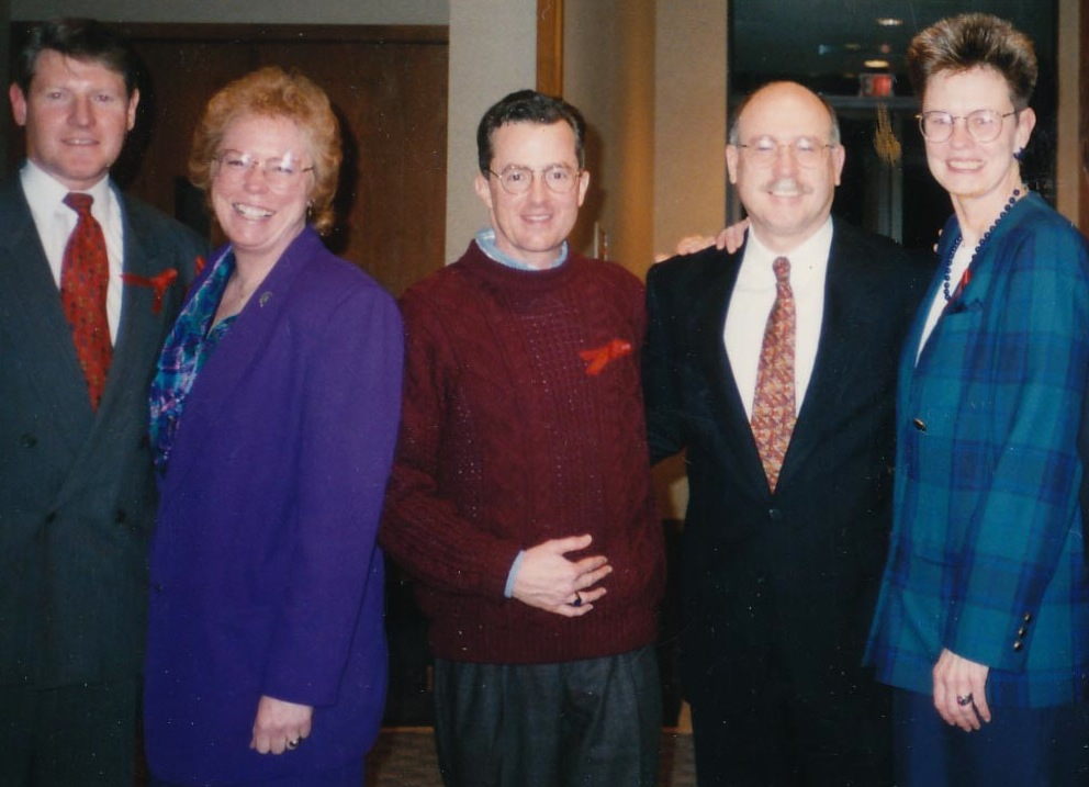 Jack Pettit, Viv Armstrong, Dick Peeples, Don Baker, Louise Young