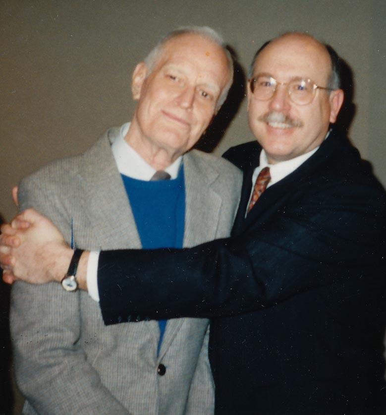 Phil Johnson (left) and Don Baker