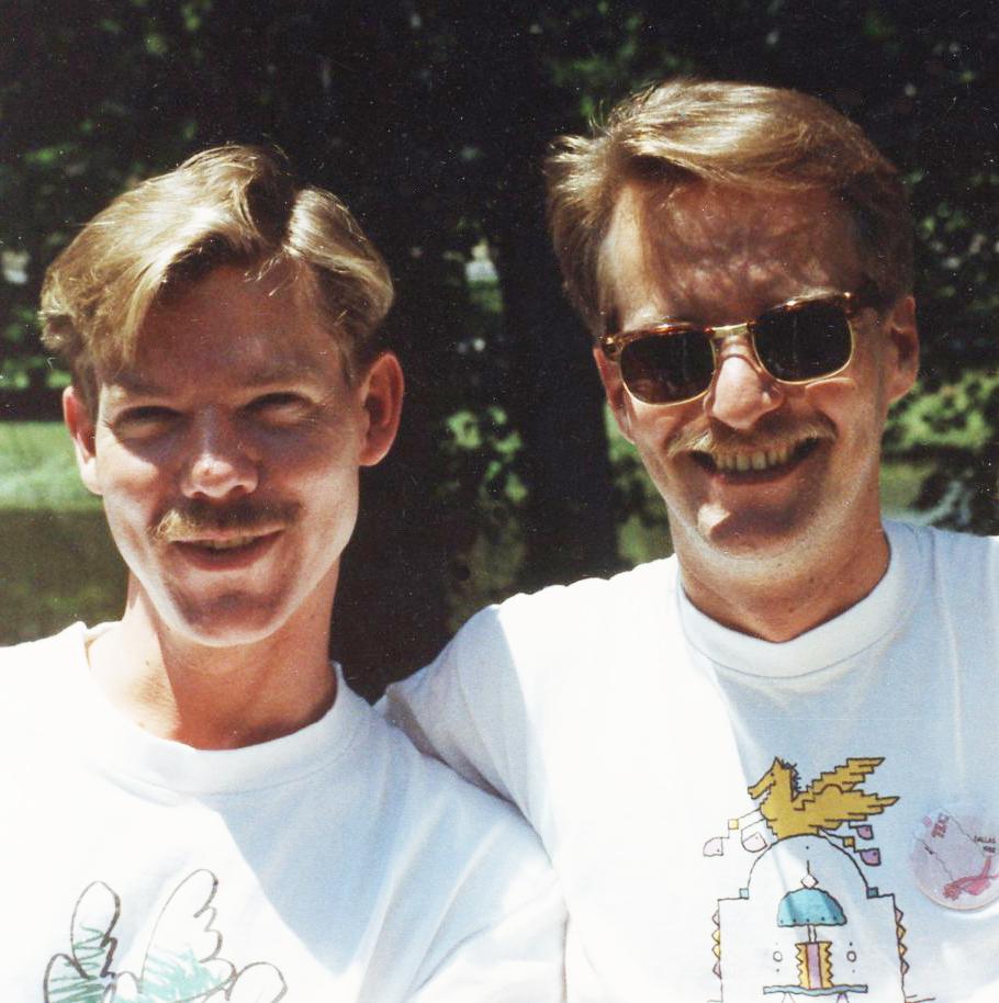 Bruce Monroe and Bill Hunt