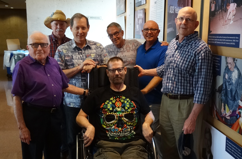 The Old Guard visits City Halll