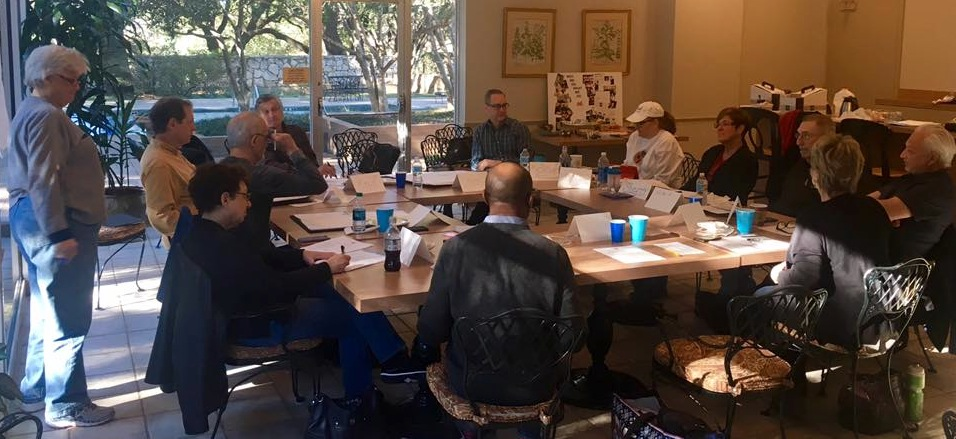 Busy board meeting of The Dallas Way