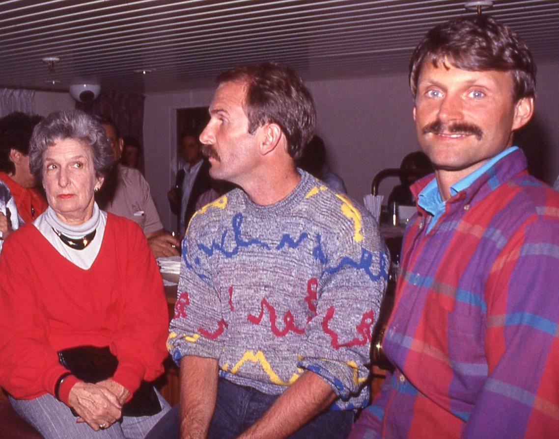 Jean Nelson ... Bill Nelson ... Terry Tebedo