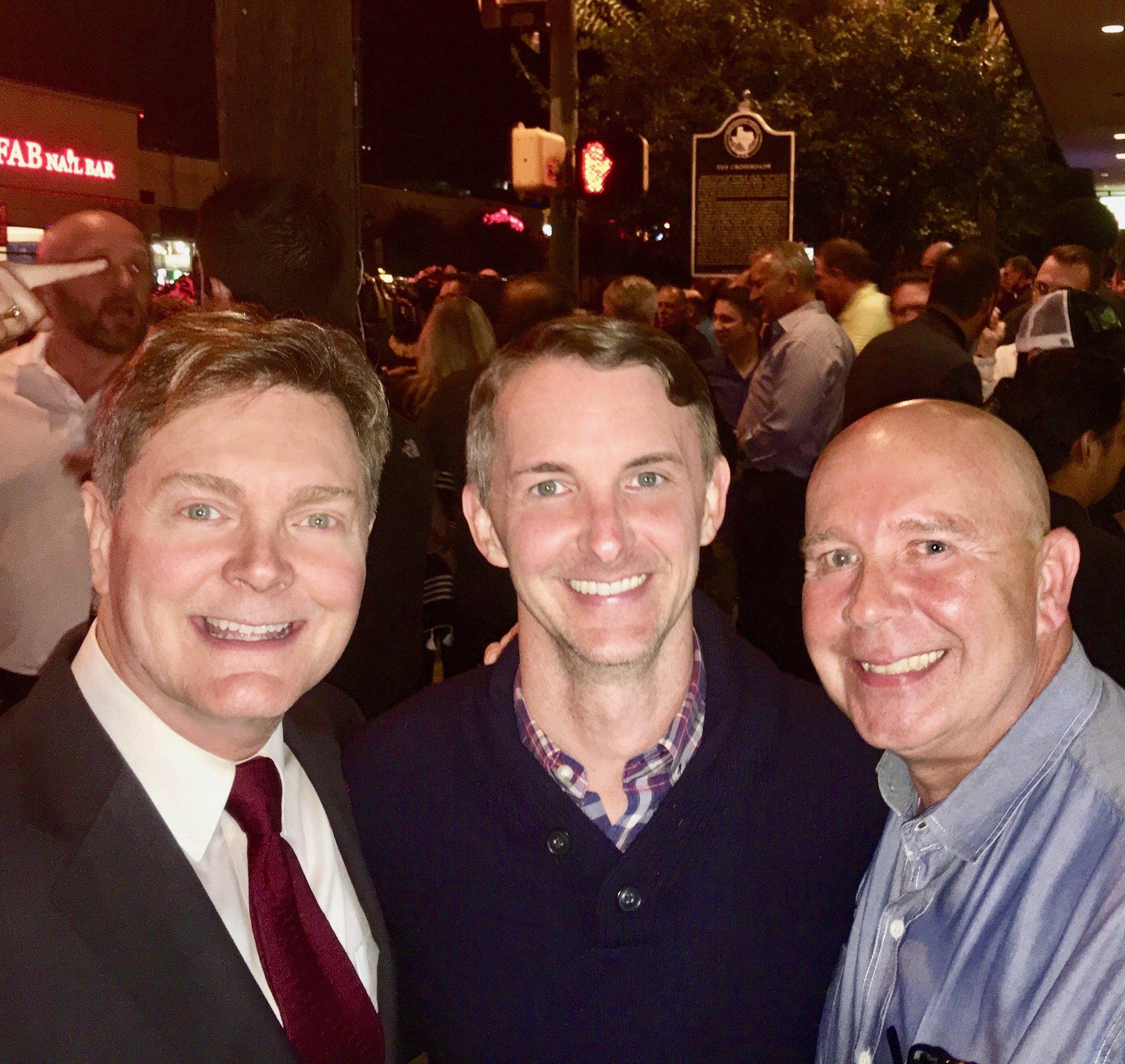 Robert Emery, Mark Doty, and Sam Childers