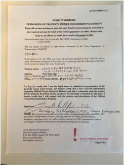 Caven Enterprises consent form