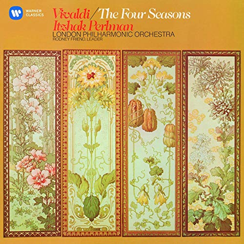 Get classical with Vivaldi's Four Seasons by Itzhak Perlman & the London Philharmonic
