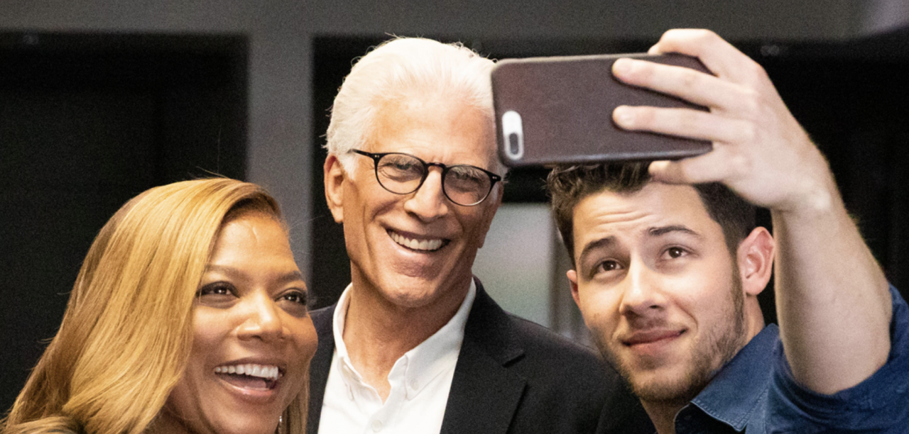 Cigna brings together  Ted Danson , Queen Latifah, & Nick Jonas to talk physical & emotional fitness