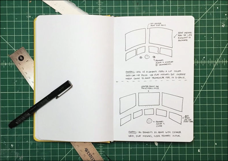 Daydream Team Presentation Notes: Design Process 2 — Jim