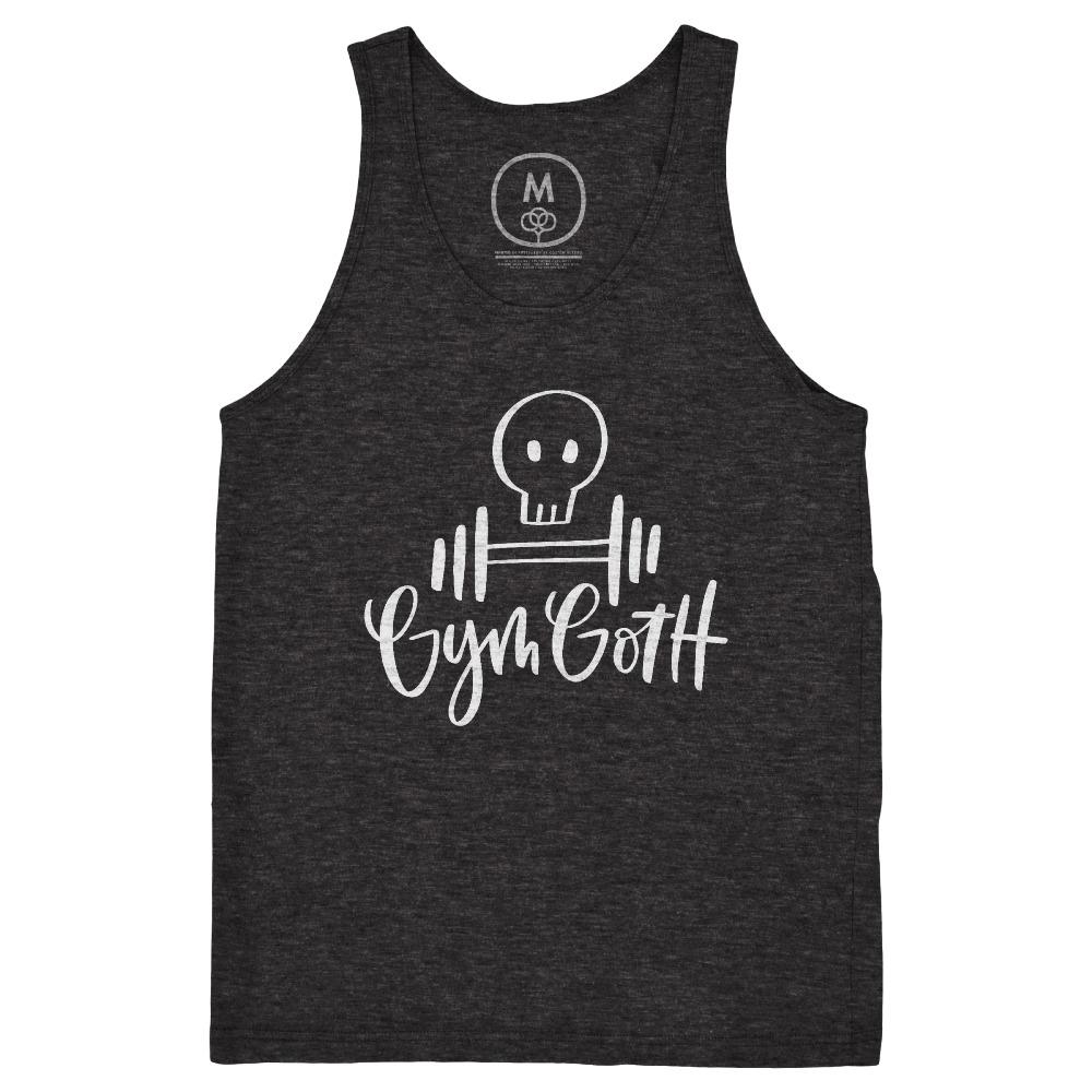 Gym Goth – Tri-Blend – Unisex – Tank – Charcoal Black.jpg