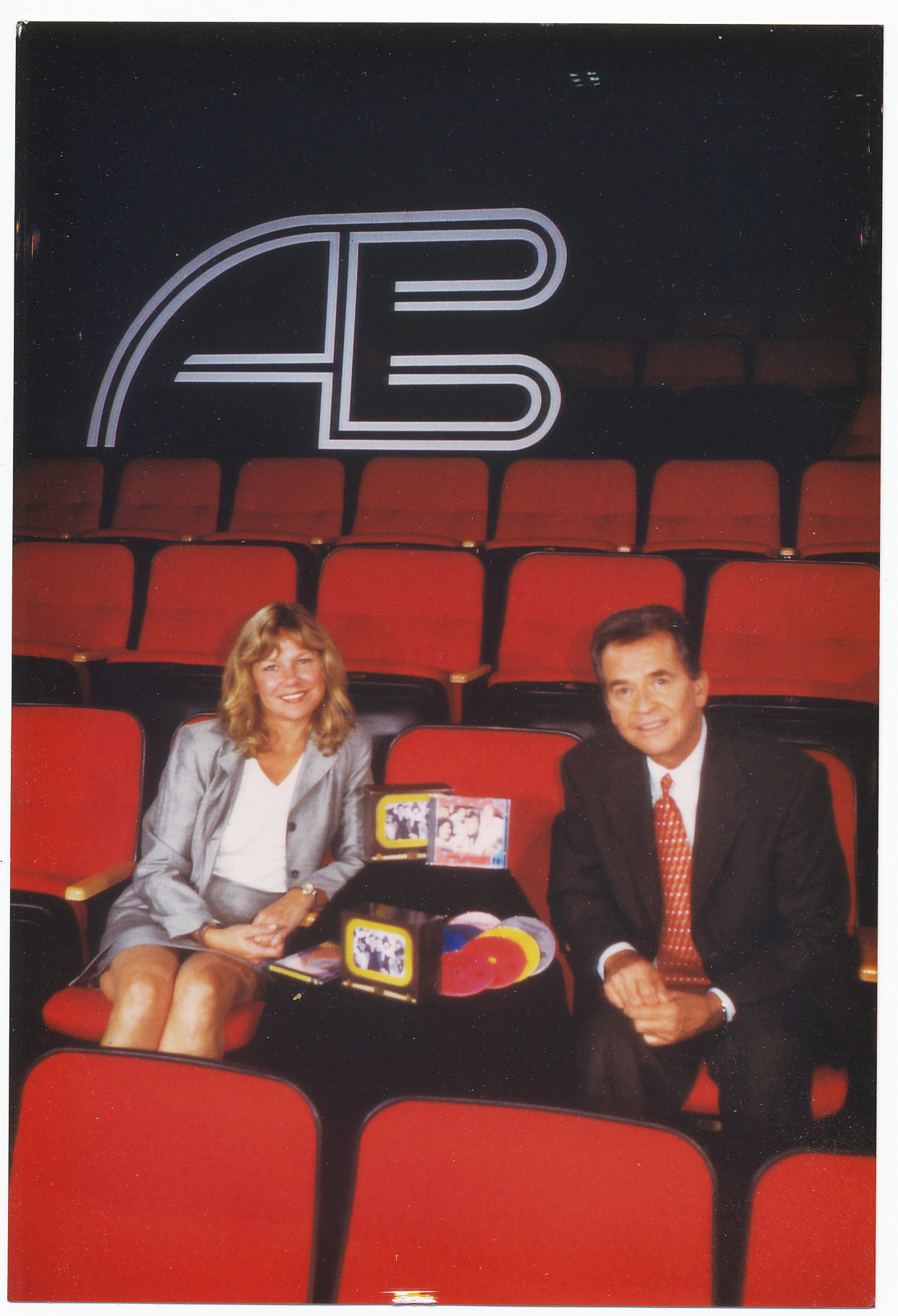 While with Q Records: With legendary producer and TV host Dick Clark