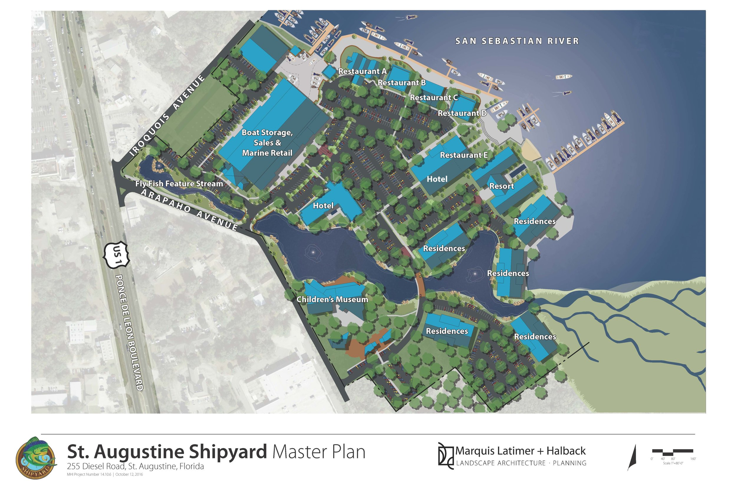St. Augustine Shipyard Master Plan
