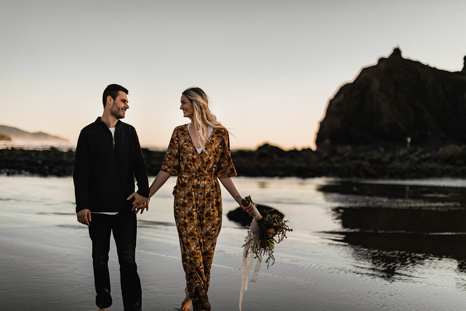 Cannon Beach Elopement - Portland Oregon Wedding and Elopement Photographer