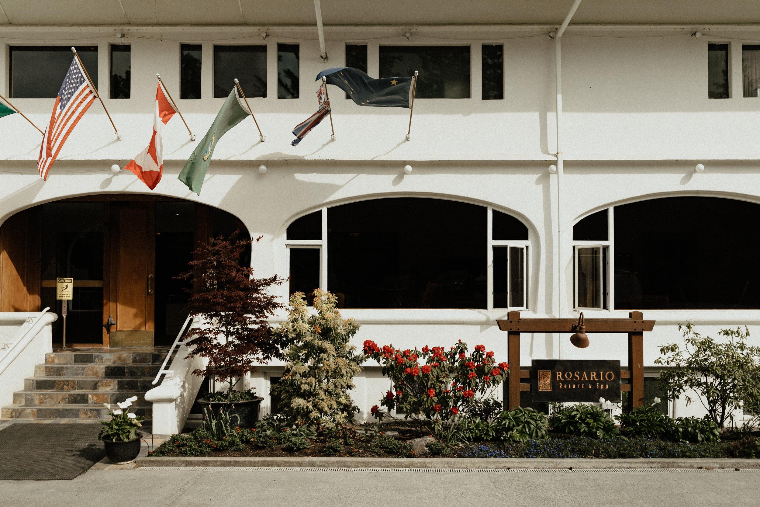 Rosario Resort Orcas Island wedding venue - Portland Oregon traveling wedding and elopement photographer
