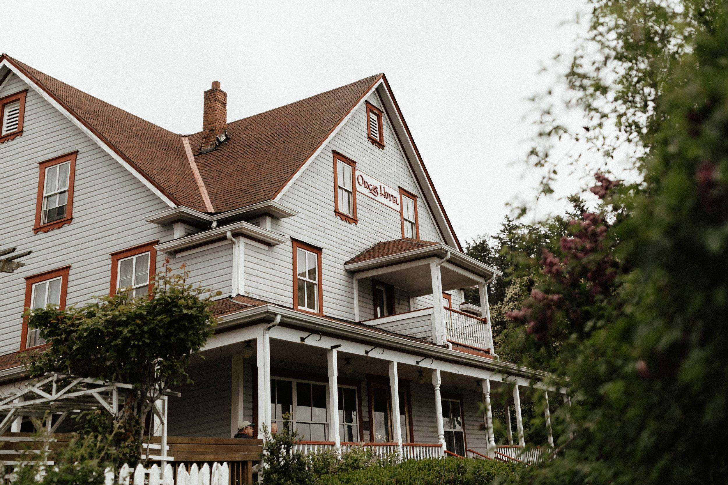 Orcas Hotel Wedding Venue - Orcas Island, Washington - Portland Oregon Wedding and Elopement Photographer