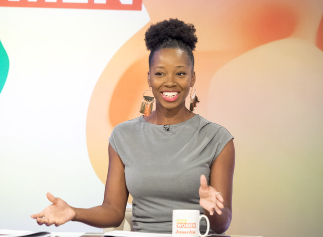 - Jamelia has presented on every major Television network in the UK. From pieces for ITV's This Morning to authored documentaries for the BBC and Channel 4. Jamelia is confident with both live television and pre-recorded shows. She has judged on talent shows and interviewed countless celebrities with her fun and fearless style.