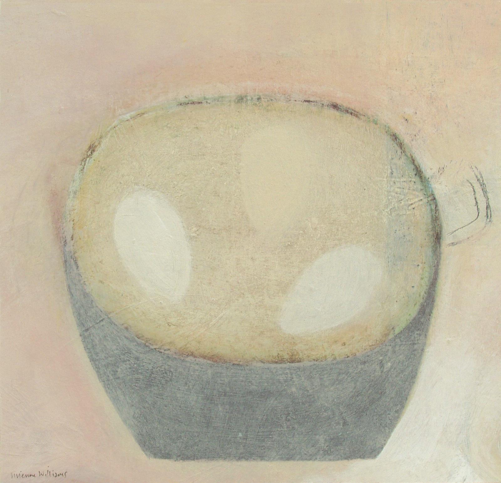 Pan with Three Eggs, 28.5cm x 30cm, 2010