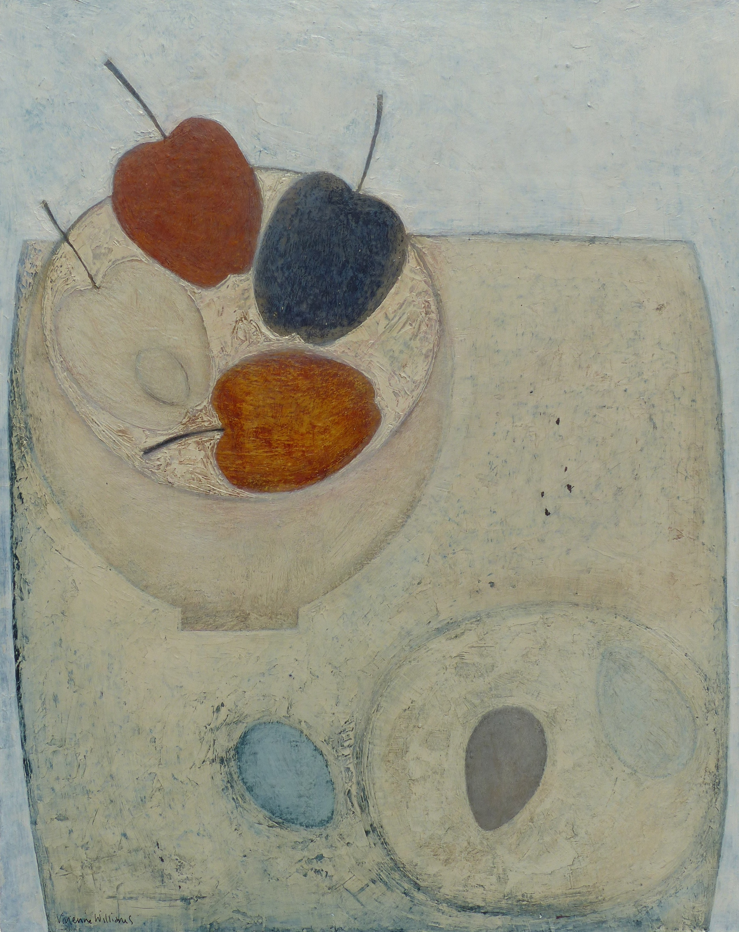 Apples and Eggs, 51cm x 41cm, 2015