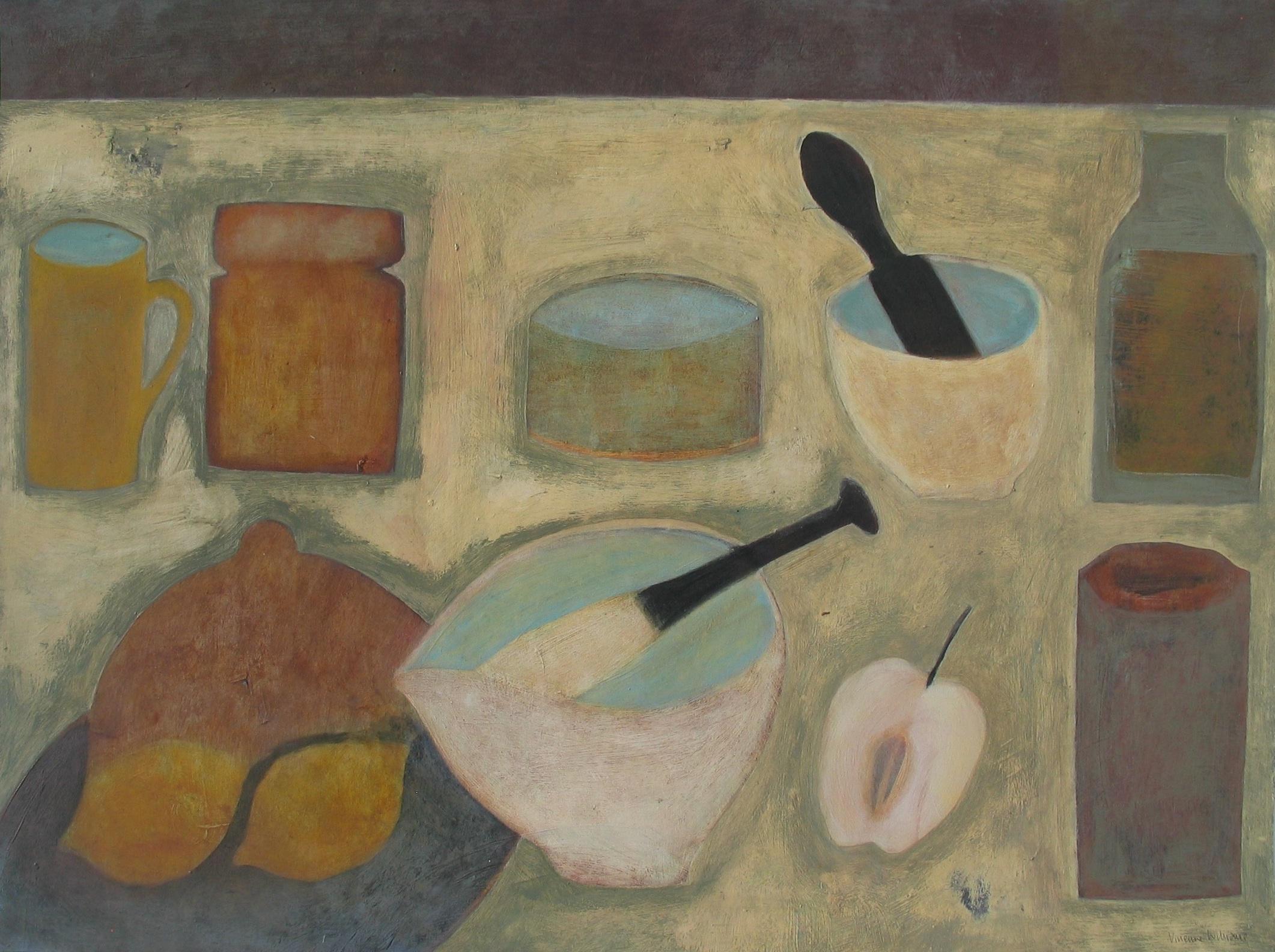 Cornish Kitchen, 46cm x 61cm, 2007