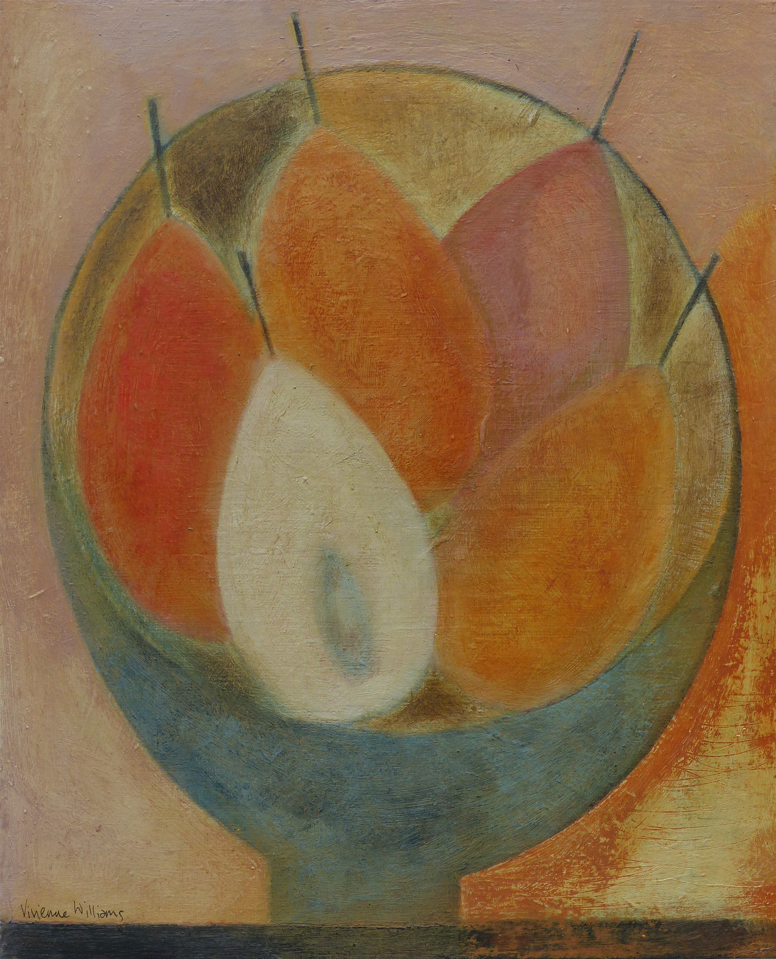 Small Pear Bowl, 29cm x 24.5cm, 2017