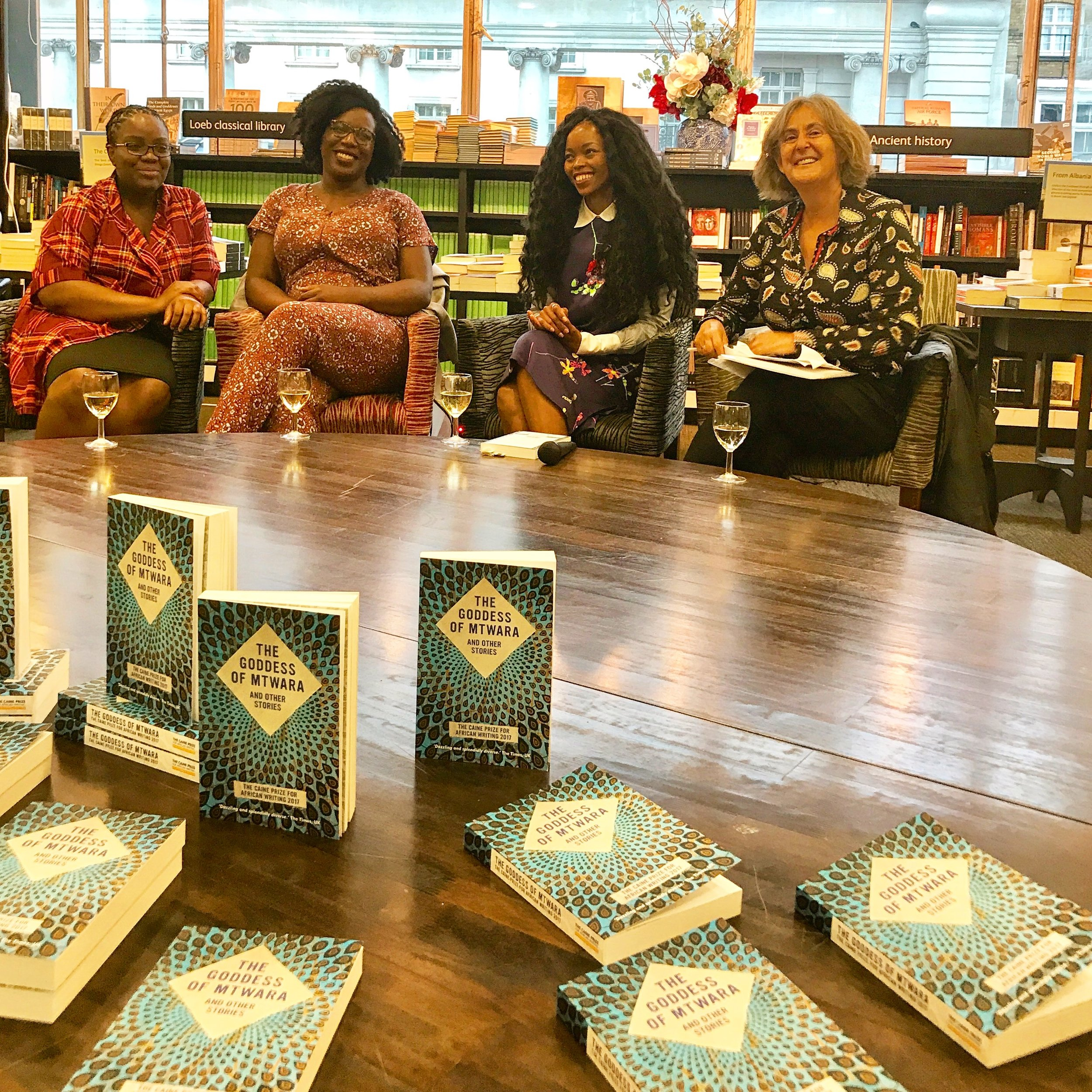 Waterstones Piccadilly Panel moderated by Gillian Slovo.