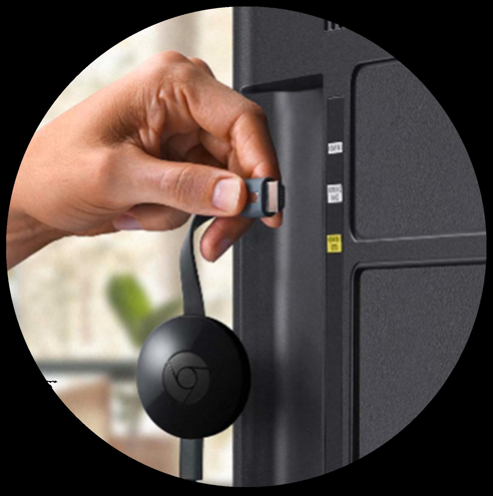 Plug Chromecast In