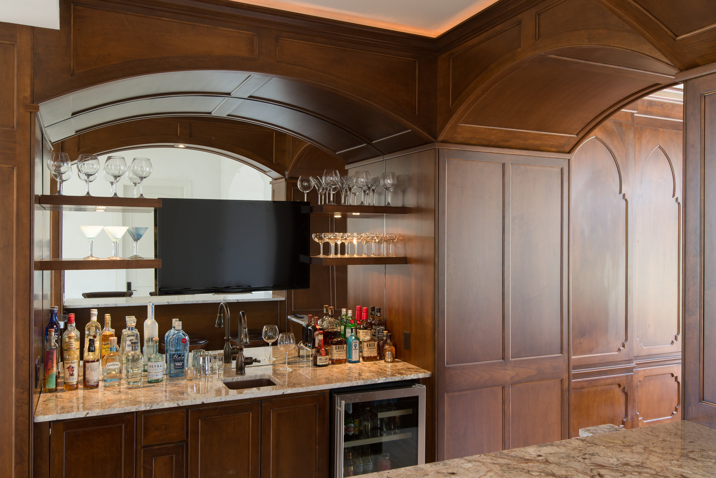 Custom Built-in Bar