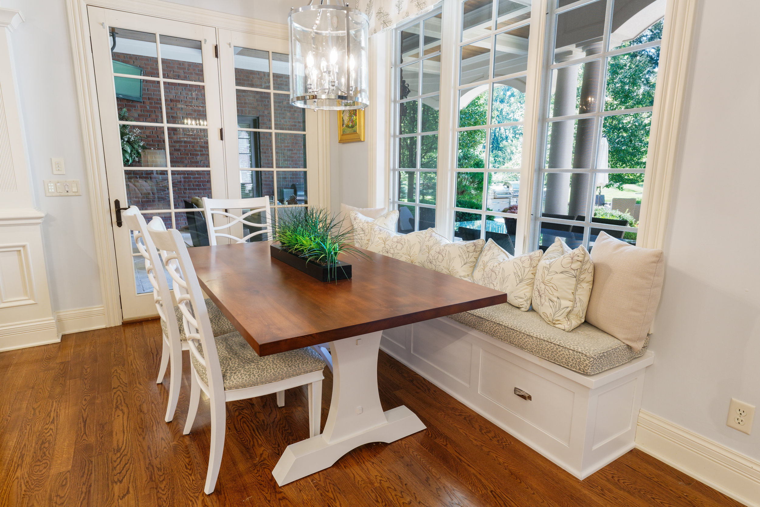 Kitchen Table and Banquette