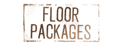 Floor packages; flooring packages