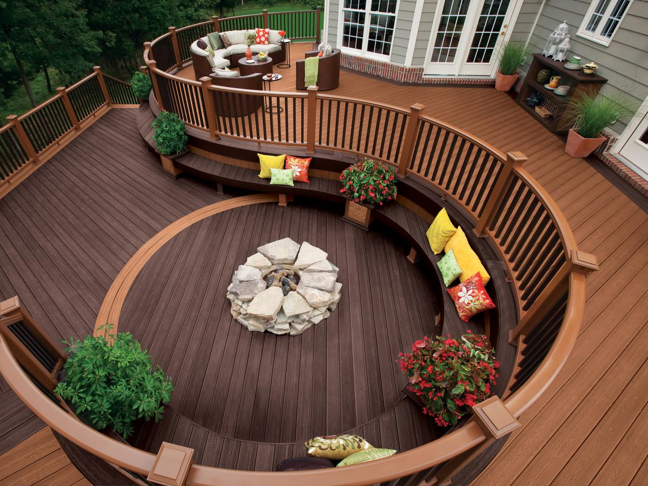 Copy of Composite decking products from Trex