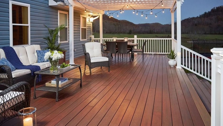Bulletproof and easy-to-intsall, Fiburon products have a 25-year stain and fade warranty and are made entirely of recycled materials.