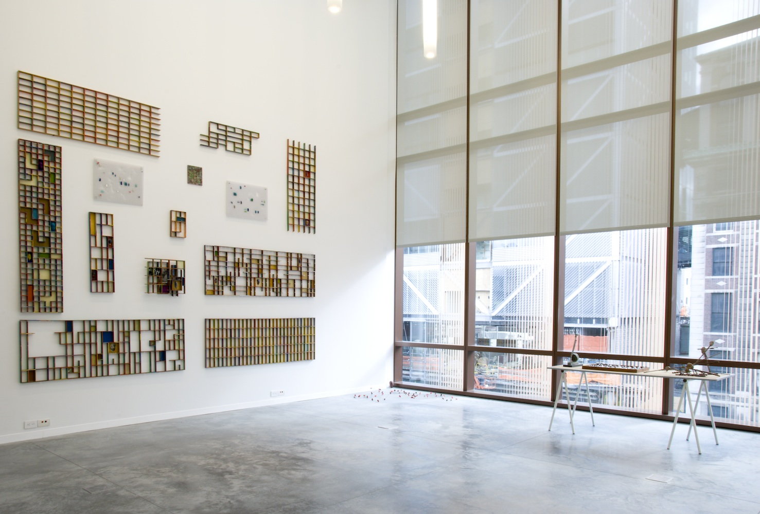 Louise McCagg 2000-2010 , 2010 Inaugural exhibition. Installation view at The Diana Center, Barnard College.