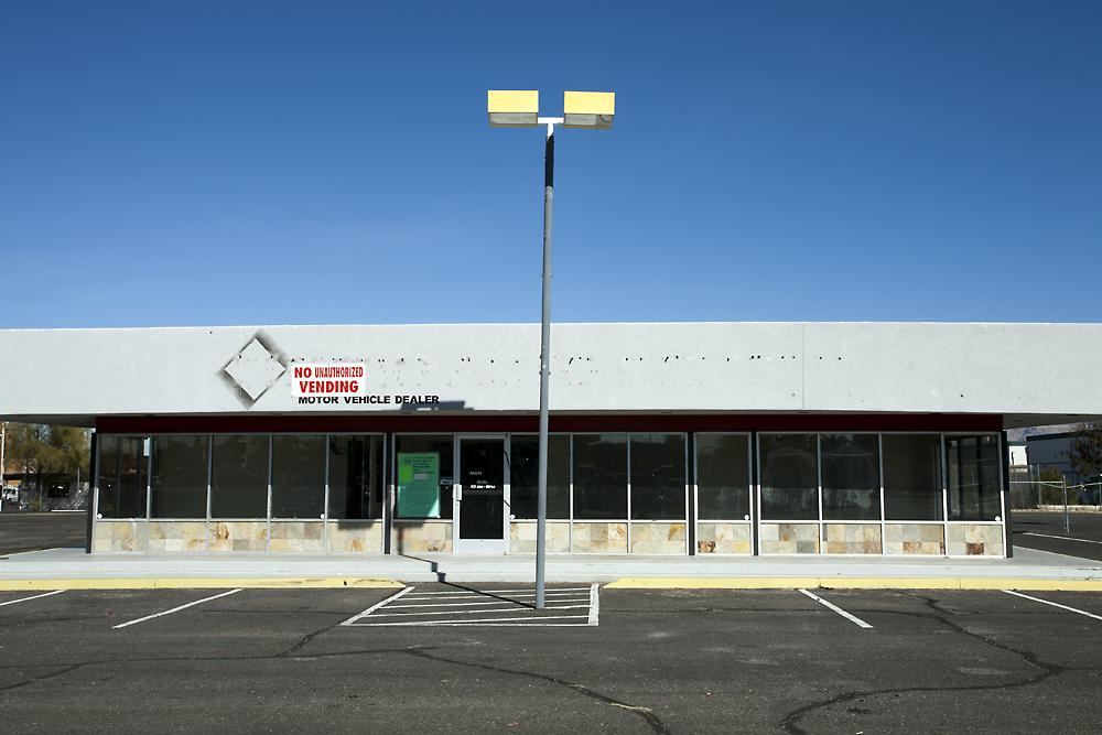 Motor Vehicle Dealer, Tuscon, AZ ,2013,Archival inkjet print, 24 x 34 inches