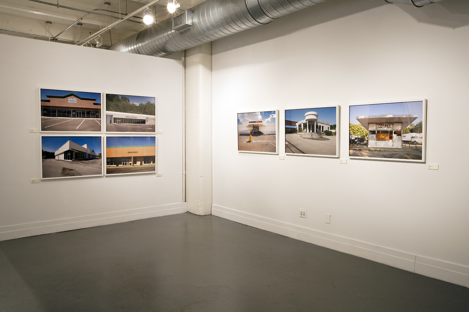 Suburban Landscapes: The Architecture of Nowhere, 2013, Installation view