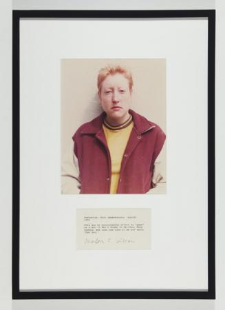 Martha Wilson, Posturing: Male Impersonator (Butch) , 1973