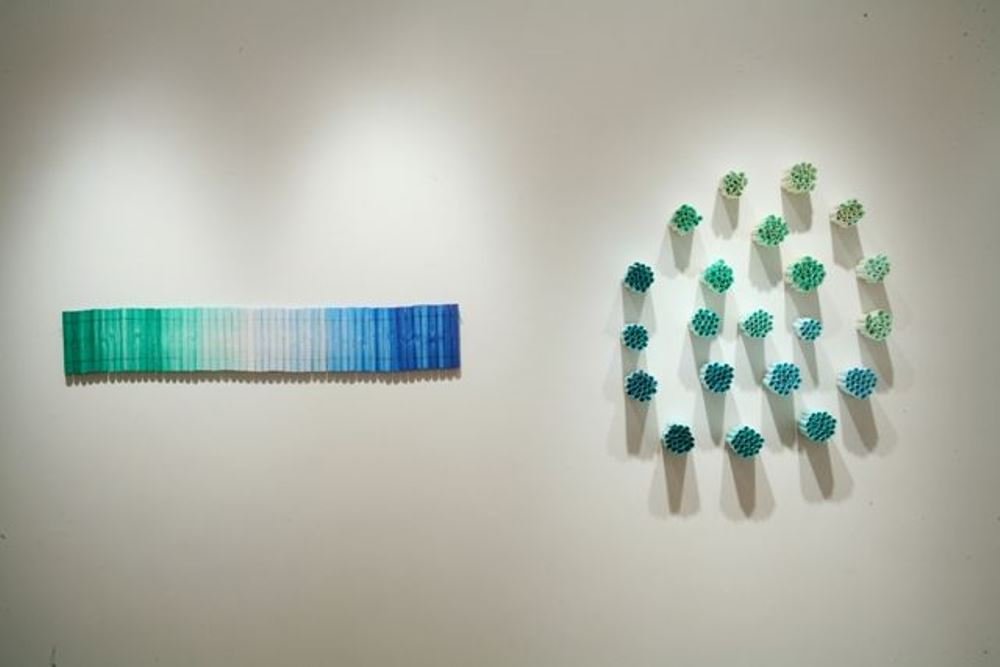 Forest- Sea and Circumlunar , 2007, Rolled rice paper, 7 x 125 x 5 inches