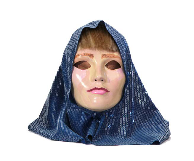 Power Mask, Joan of Arc , 2015, Mixed media