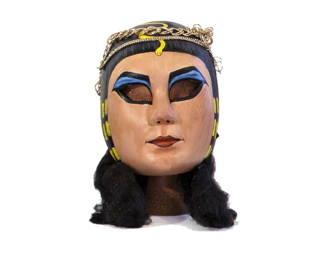 Power Mask, Cleopatra , 2015, Mixed media