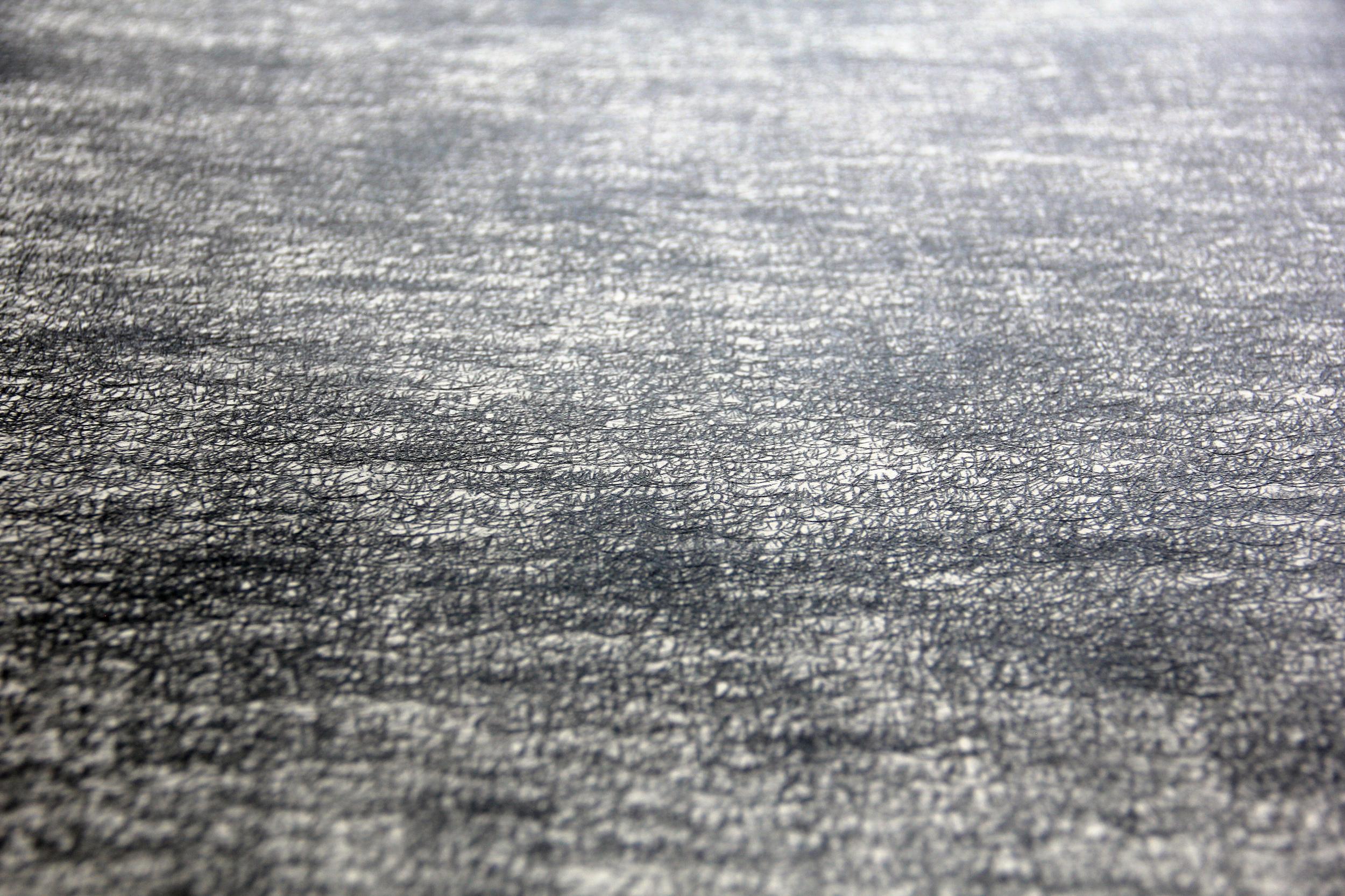 Yun Shin,  Record #02 , 2015, Carbon paper, 11 x 8 inches