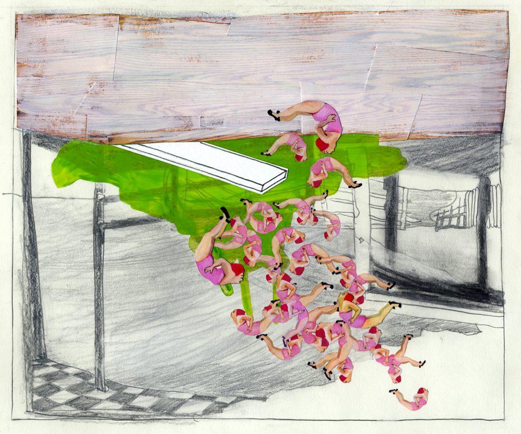 Nancy Morrow, Dive, 2010