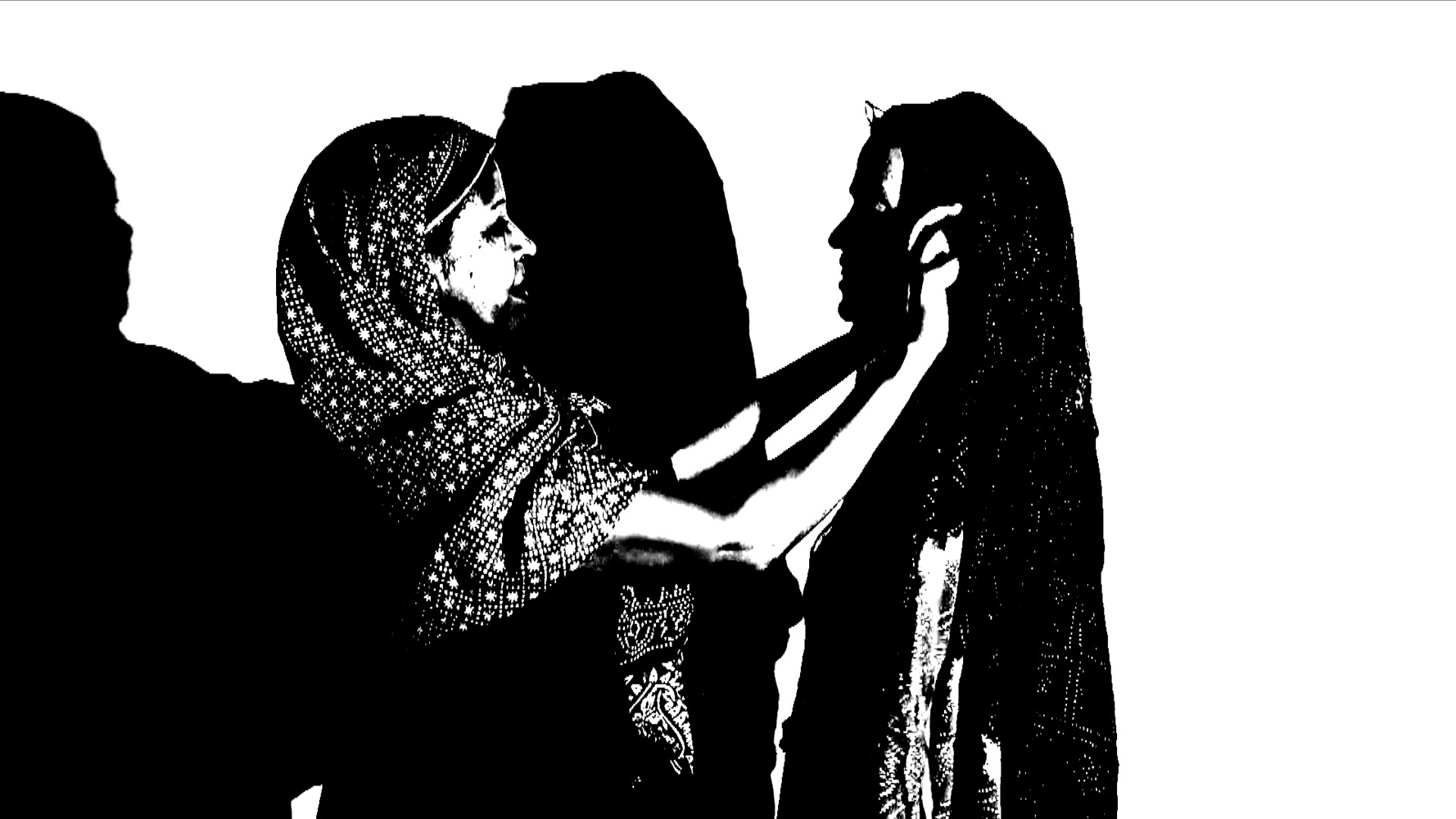 """Sisterhood, Shared Threads"" Video, .mov (NTSC). Duration: 1:32. 2016. https://vimeopro.com/fuzeart/sisterhood-shared-threads"