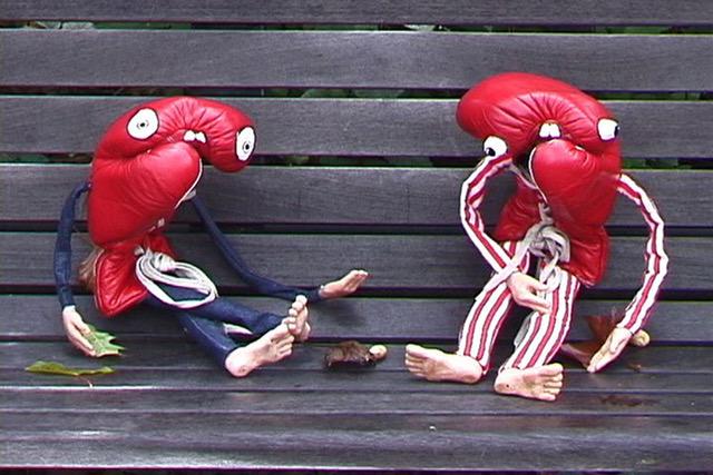 From  Smells,  2005, video still