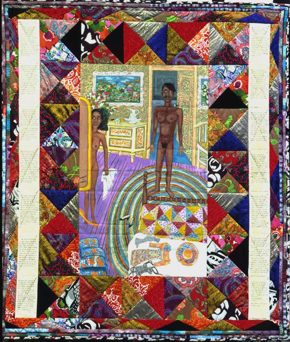 Faith Ringgold,  Bitter Nest #3: Lover's in Paris , 1998