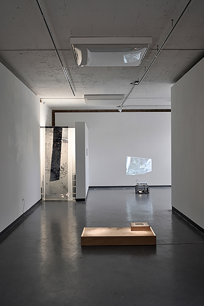 MFA thesis exhibit, 2015, installation view, dimensions variable