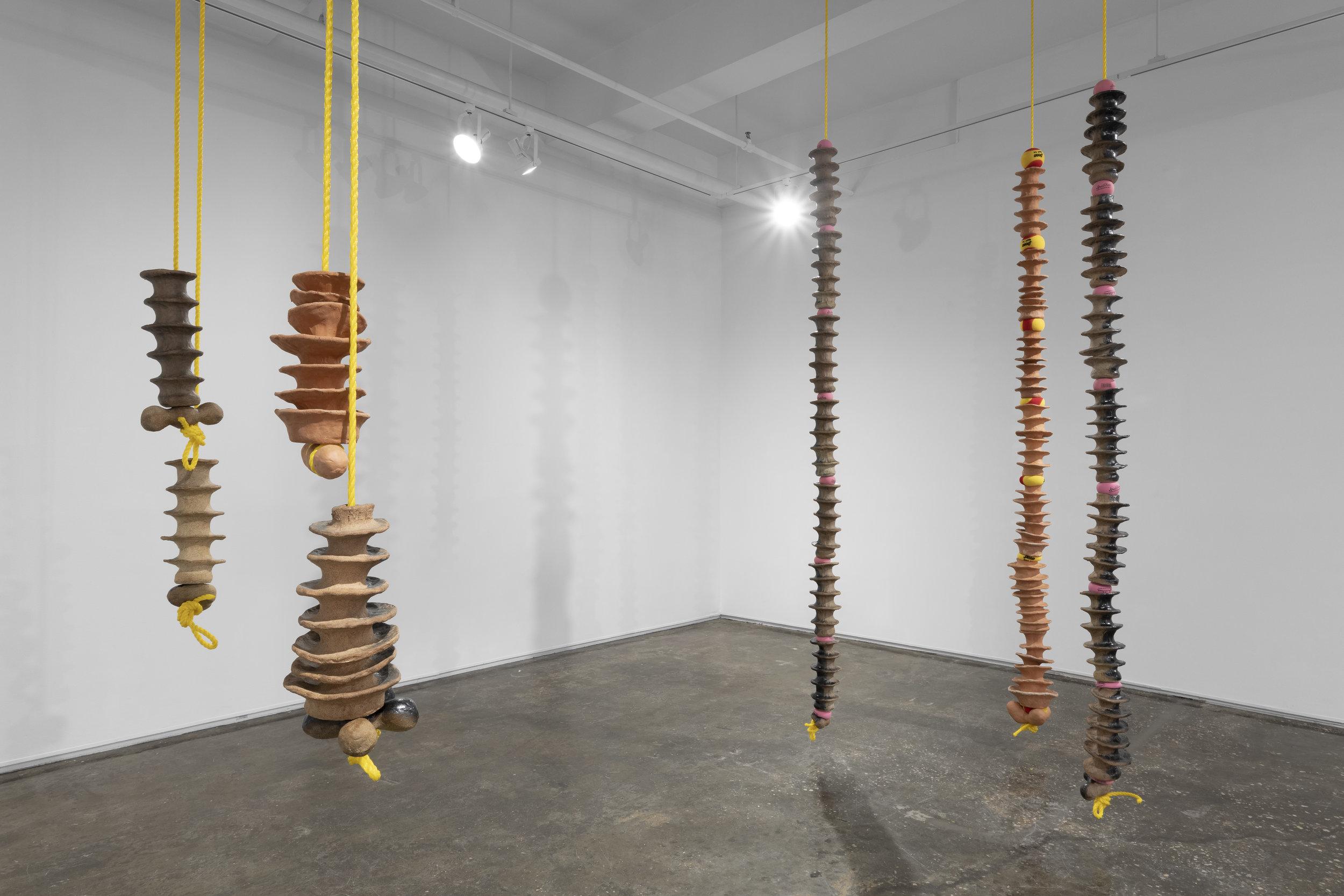 Sylvia Netzer, Virtebrae installation shot by Sebastian Bach