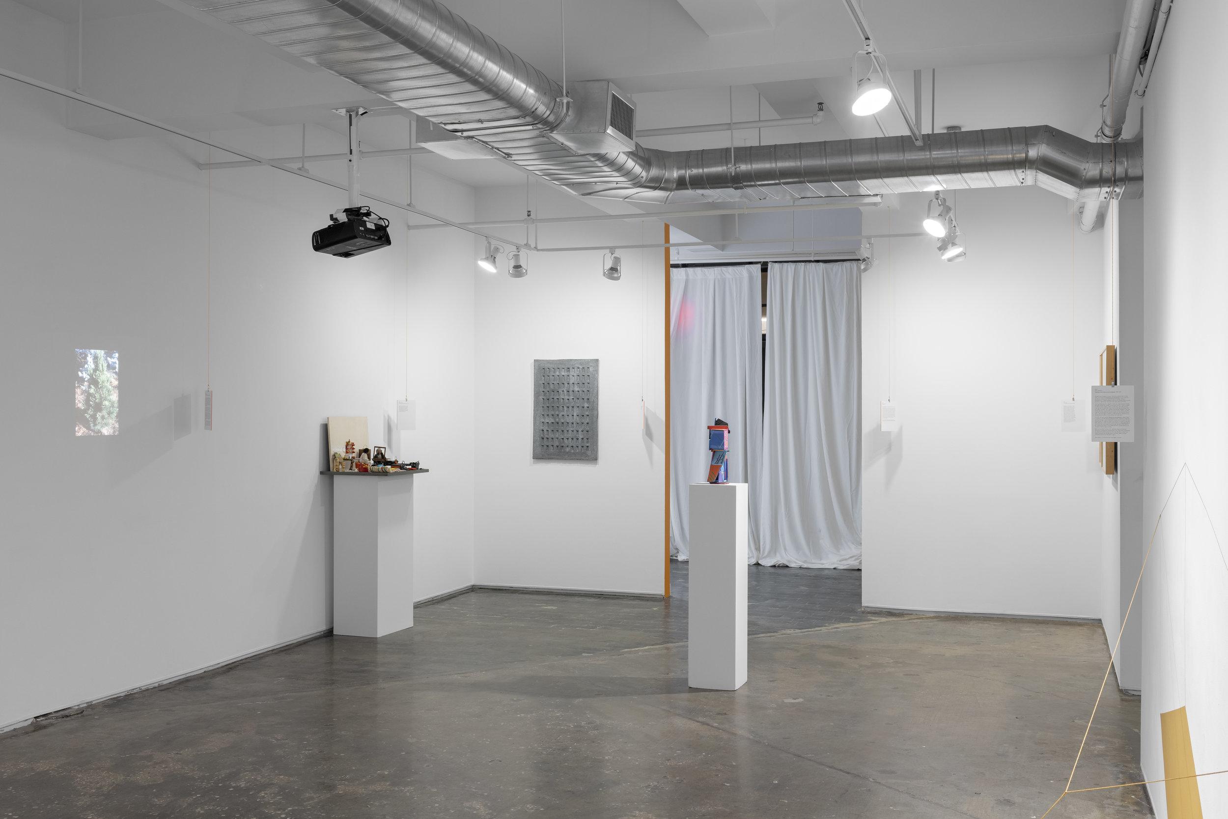 Dialectics of Entanglement: do we exist together? installation shot