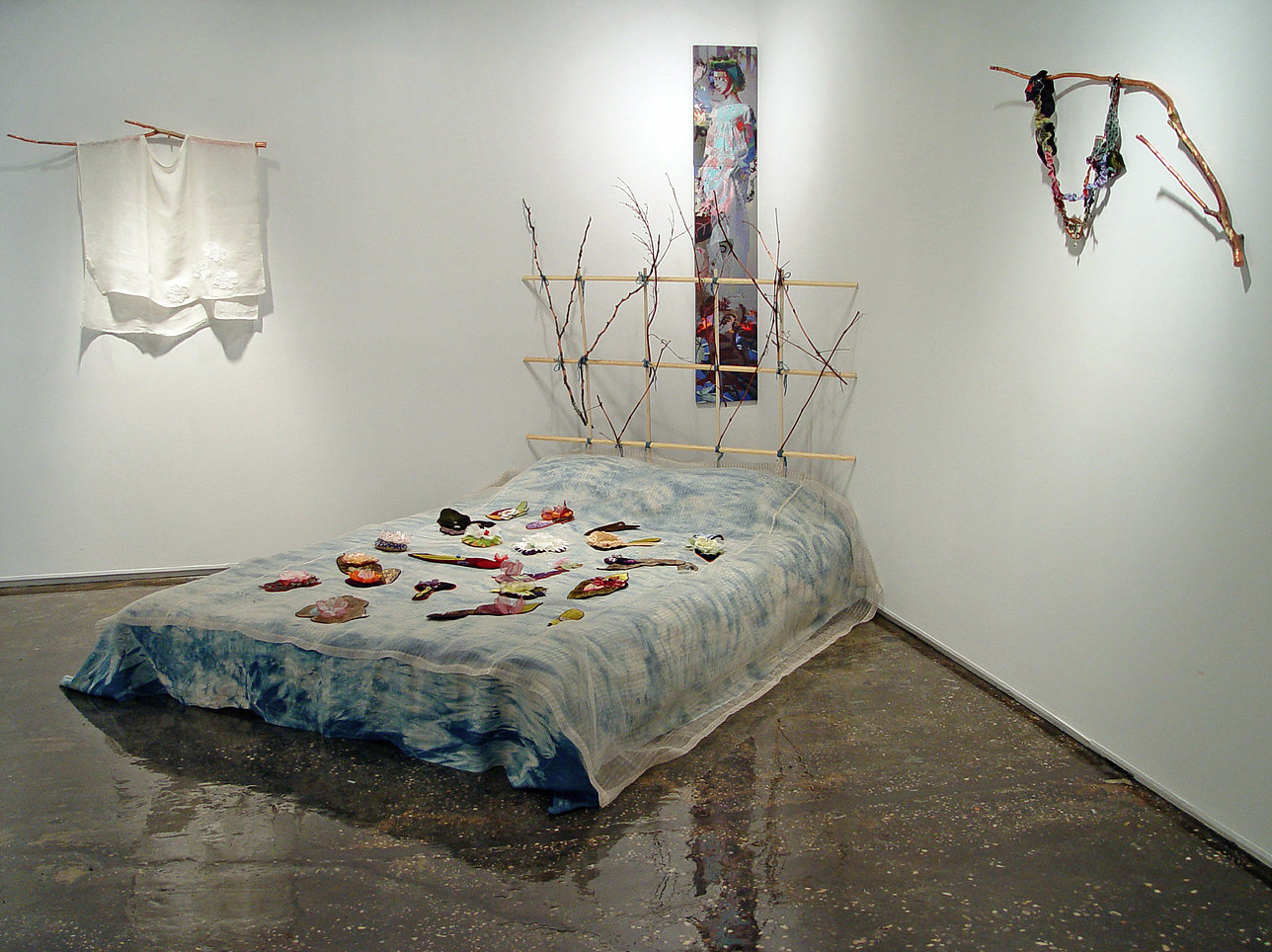The Art of Sleep , 2015  Installation at A.I.R.