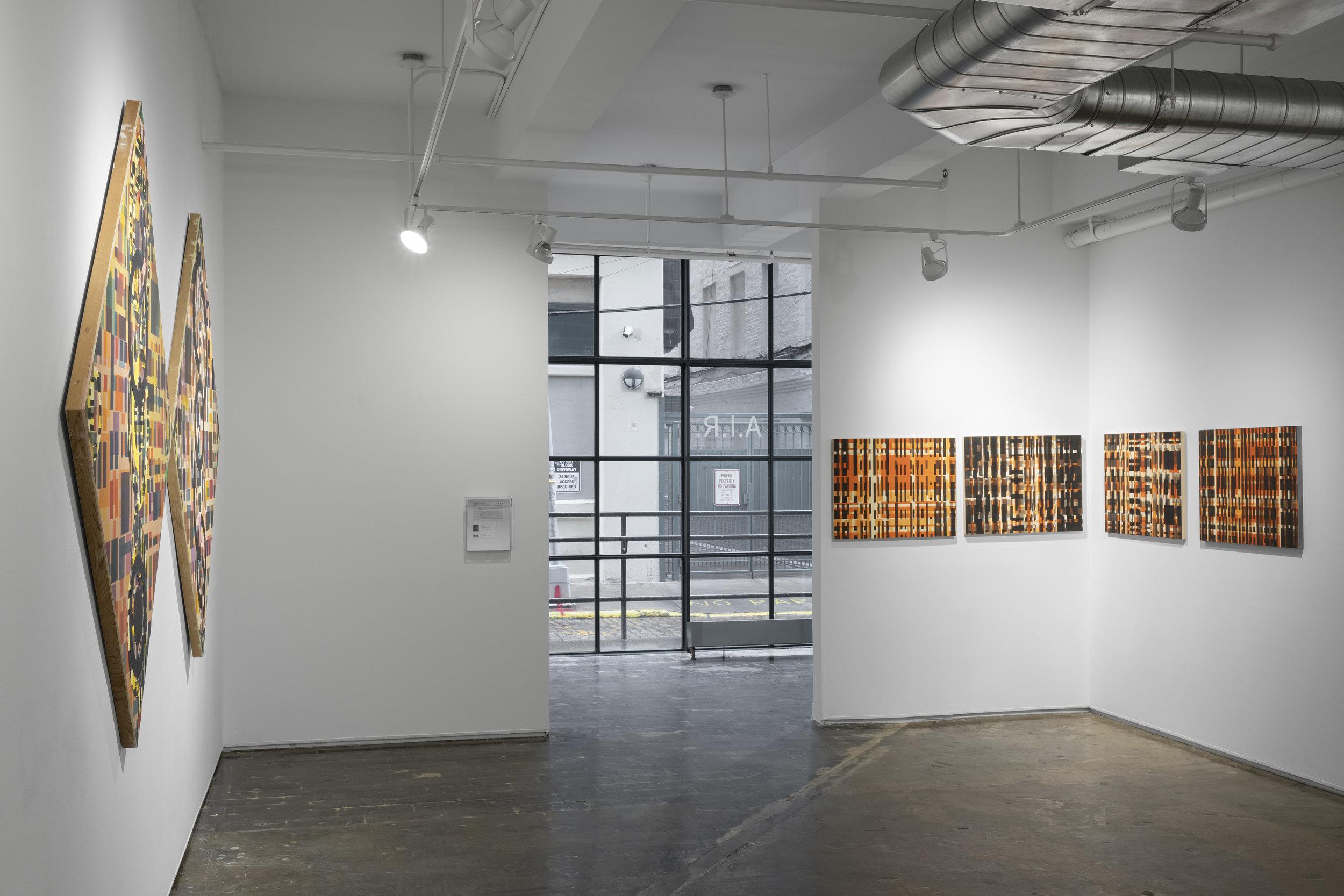 Installation view, 2018.