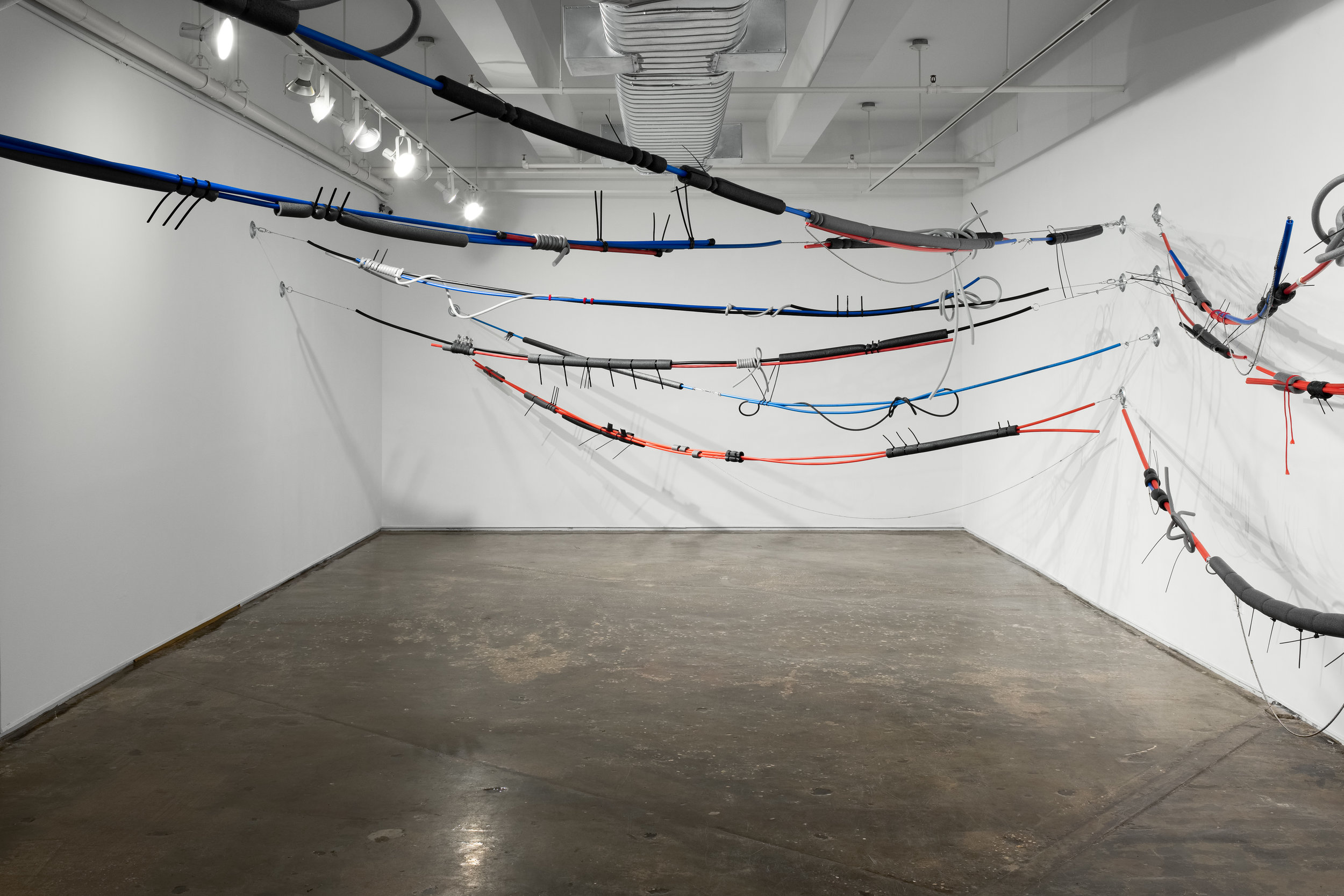 Installation view of  Unseen Scenery