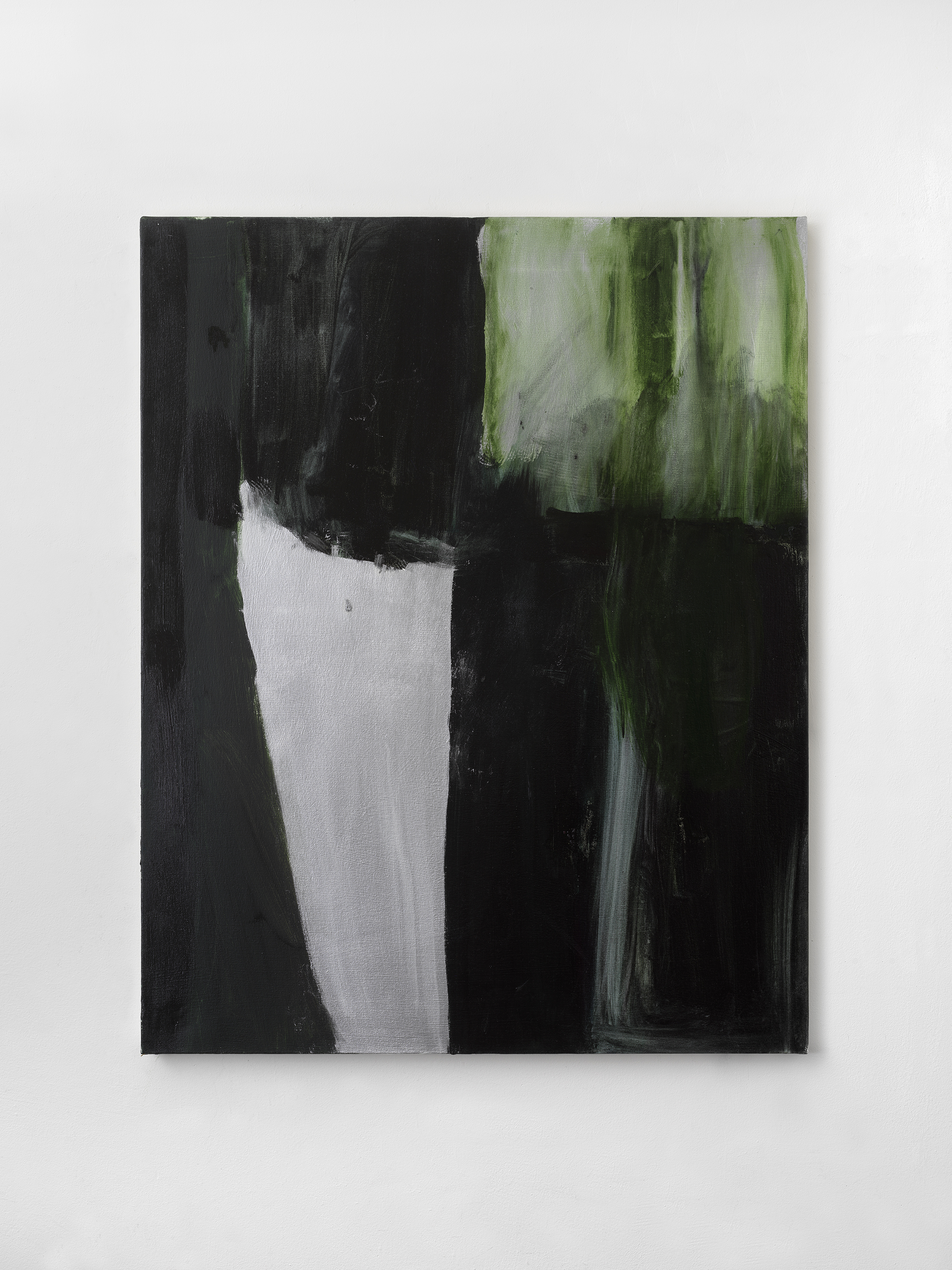 Green Screen #5 , 2018 43 x 34 inches, Oil on canvas
