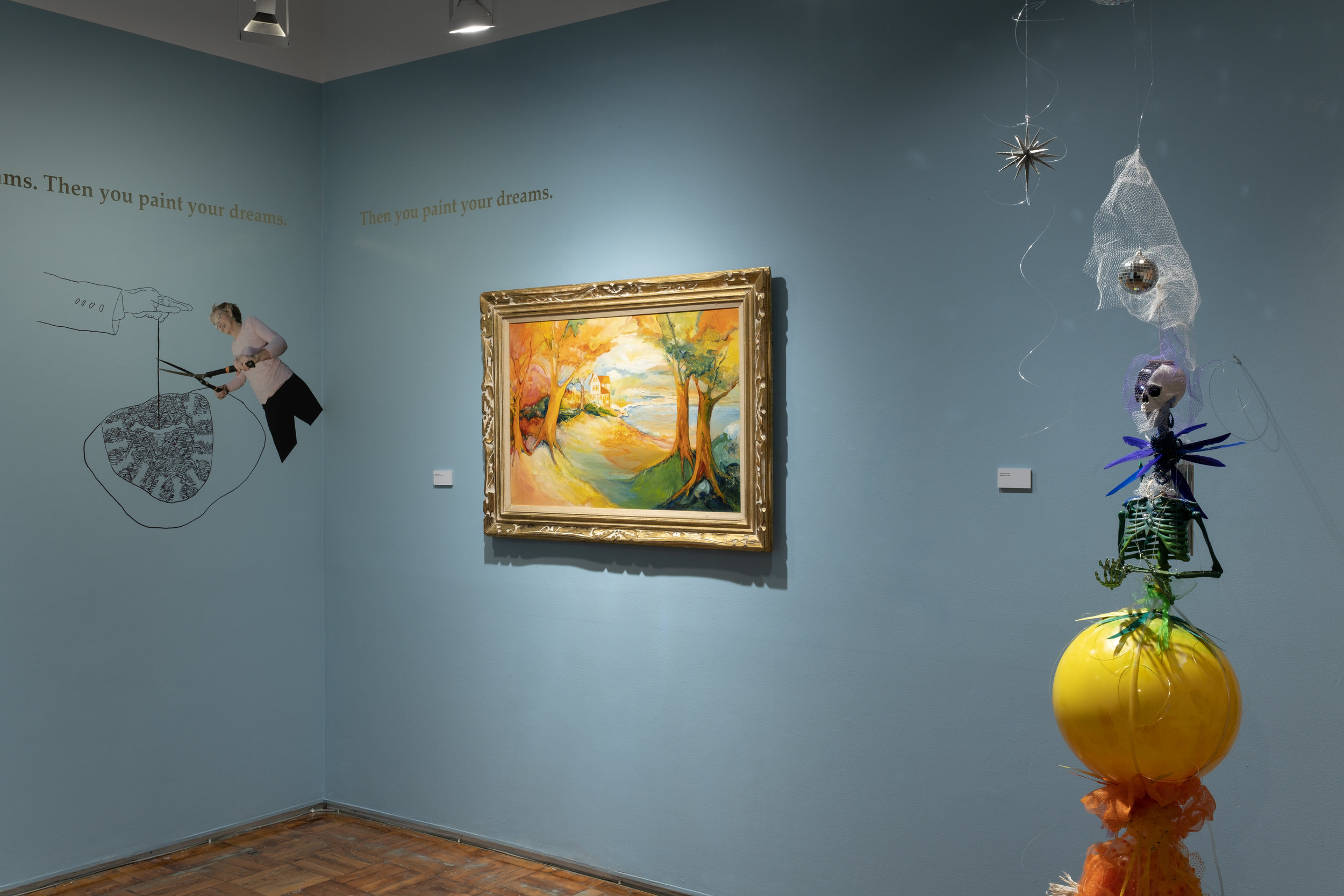 Installation view of  The Way It Is